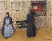 Mother and Daughter Carl Larsson