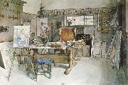 One Half of the Studio Carl Larsson