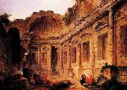 Interior of the Temple of Diana at Nimes Robert Henri
