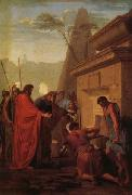 King Darius Visiting the Tomh of His Father Hystaspes Eustache Le Sueur