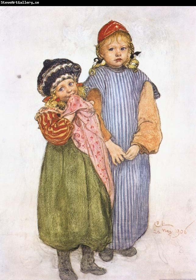 Carl Larsson Carpenter Hellberg-s Children